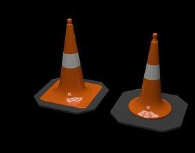 Traffic Cone 1 3D