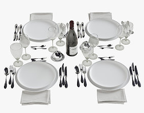 3D model Table Setting 8