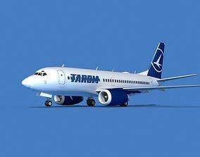 Boeing 737 MAX 7 TAROM 3D