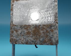Flood Light PBR 3D model