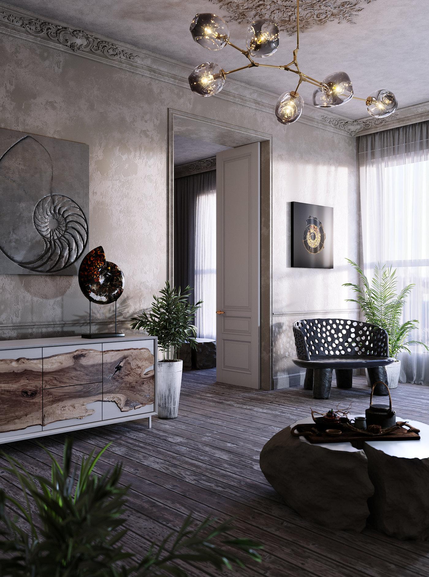 Collection of interior scenes Vol 1