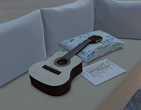Cavaquinho Giannini GCSI-14 3D model