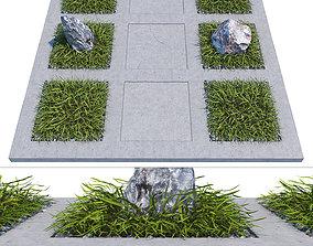 Concrete pathway 3D
