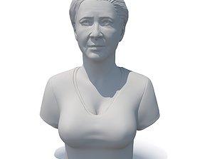 Female bust 01 - CGI model