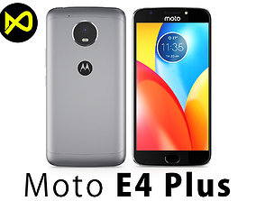 Motorola Moto E4 Plus Grey 3D model