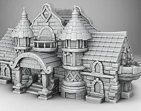 Castle middleages 3D printable model