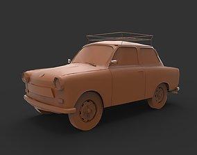 Trabant 601 3D printable model