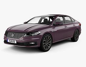 3D model Volkswagen Lavida Plus 2018