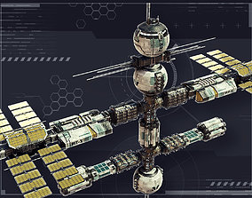 Federation Station 3D asset
