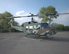 service-helicopter 3D Helicopter UH 1