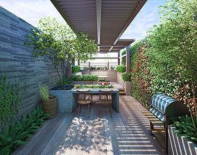 CT Rooftop Garden 3D model