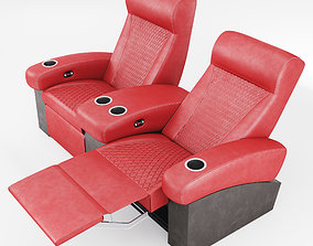 Cineak Fortuny Incliner Seating 3D