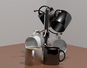 3D tableware Coffee Cup Set