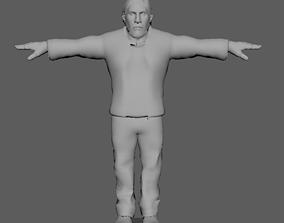 Low Poly Model 3D asset VR / AR ready