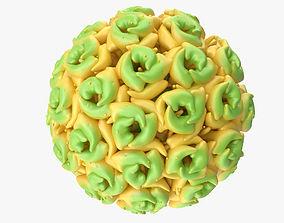 3D model Simian Virus 40