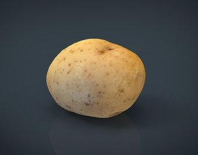 Realistic Potato 3D model