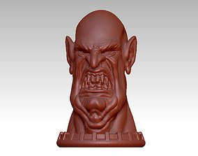 3D print model sculptures demon head