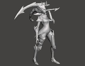 Dragonslayer Diana 3D Model rift
