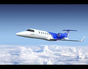 3D model Learjet 75