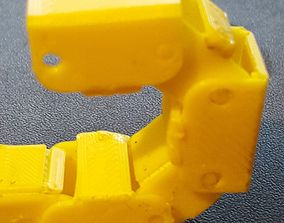 3D print model wire cable chain foldable