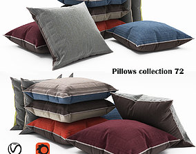 3D model Pillows collection 72