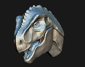T-Rex Head 3D model for print