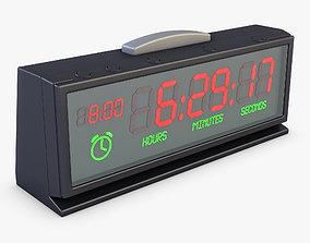 Digital Clock v 1 3D model