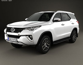 Toyota Fortuner VXR 2016 3D model