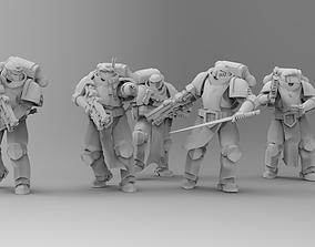3D printable model Knights of Roma - Warden Lawbearers