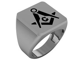3D print model Masonic ring- 88