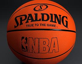 3D model Basketball Spalding equipment