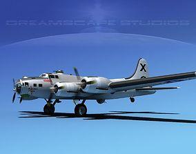 Boeing B-17G Flying Fortress MP V03 3D