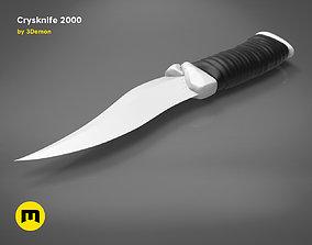 3D printable model Crysknife 2000
