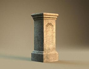3D asset Pedestal1