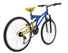 Median CX-FS01 bicycle Kerkpr 3D