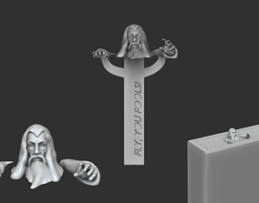 3D printable model Gandalf Bookmark - Lord of the Rings