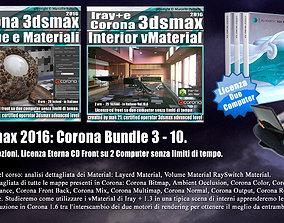 Corona in 3dsmax 2016 Bundle Vol 3 e 10 Cd