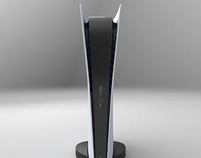 3D model Sony PlayStation 5 Digital Edition