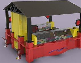 Kiosk 4 3D model