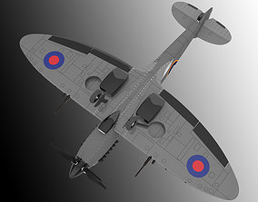 vehicle fighter 3D model