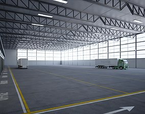 3D asset Logistics And Multipurpose Warehouse