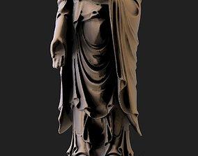 cnc 3D print model Buddha statue