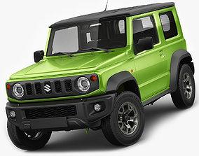 3D Suzuki Jimny 2019