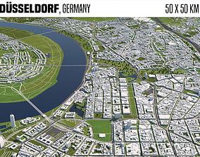 Duesseldorf Germany 3D model