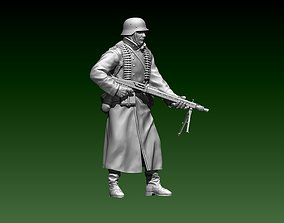 3D printable model 2ww German officer