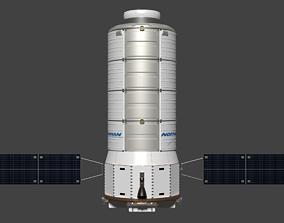 3D model Cygnus-derived Cislunar Cargo Vehicle