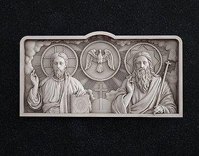 3D printable model Holy Trinity