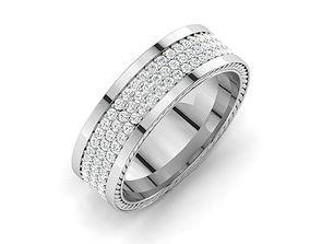 wedding-ring 3D print model BAND RING