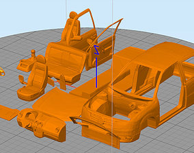 3D printable model volkswagen gol power