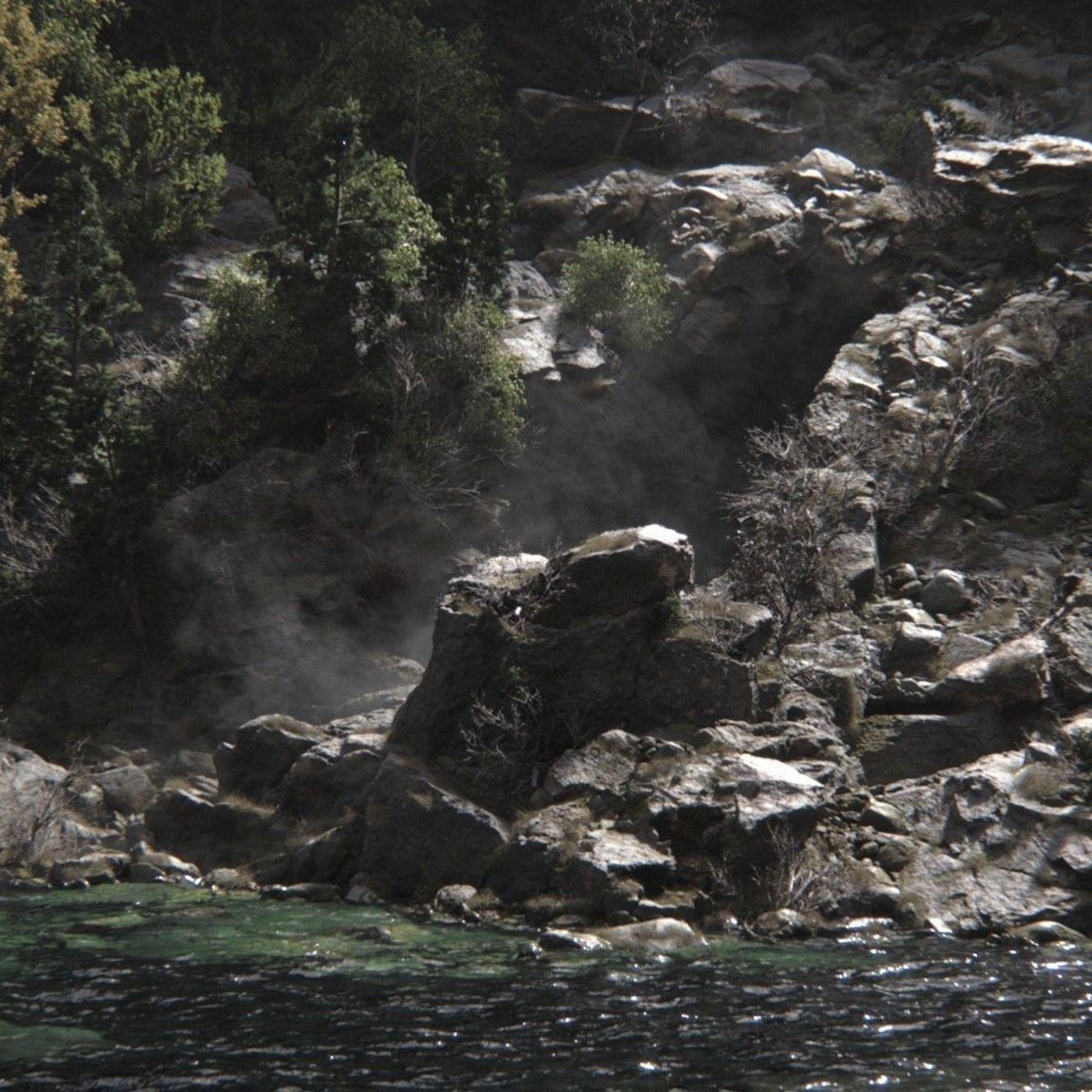 Volcanic Cliff by Mickael Riciotti